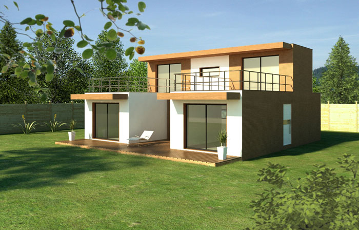 Module home maison modulaire en bois urbanews for Prix construction modulaire